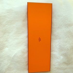 Hermès tie box and ribbon brand new